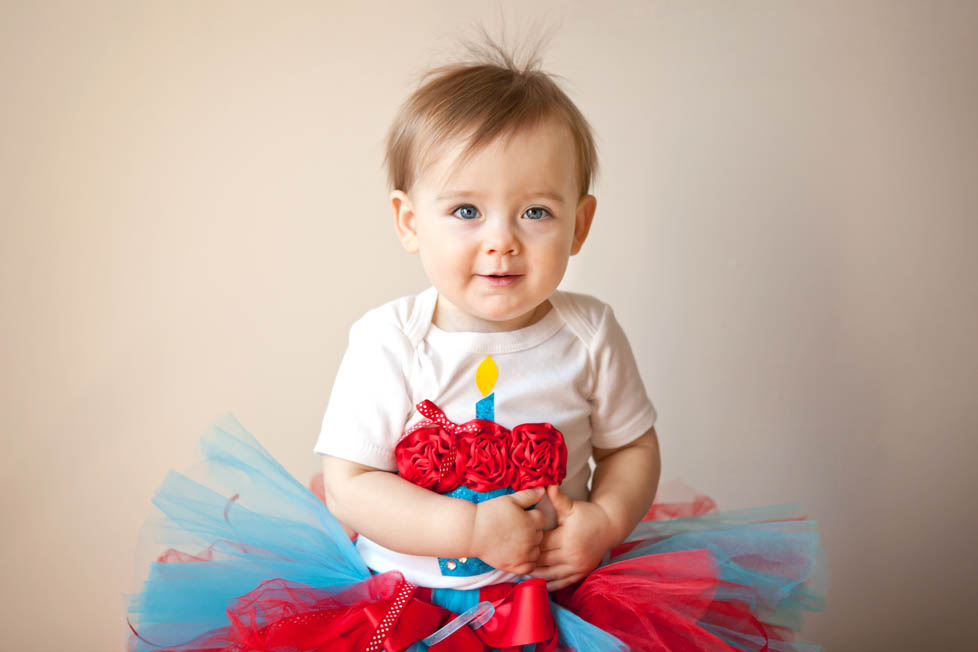 Baby photography first birthday wake forest raleigh nc